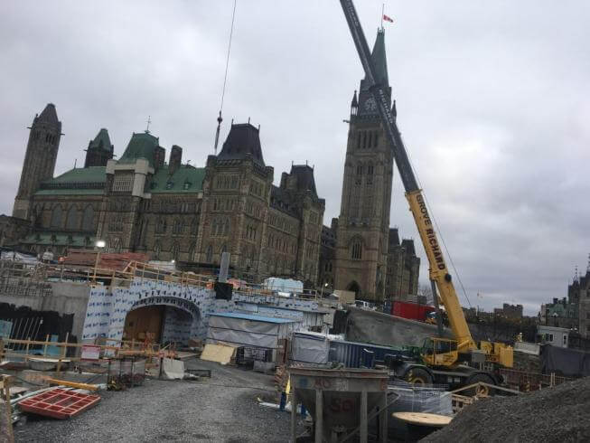 Work in the Ottawa Parliament / Ottawa